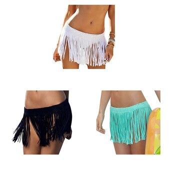 7817cad068e3 Conjunto de traje de baño Sexy para mujer Bikini traje de baño bohemio  estampado Halter trajes de ...