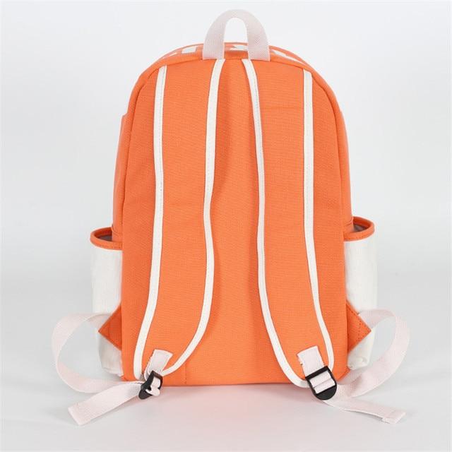 Naruto Uzumaki Canvas School Bag