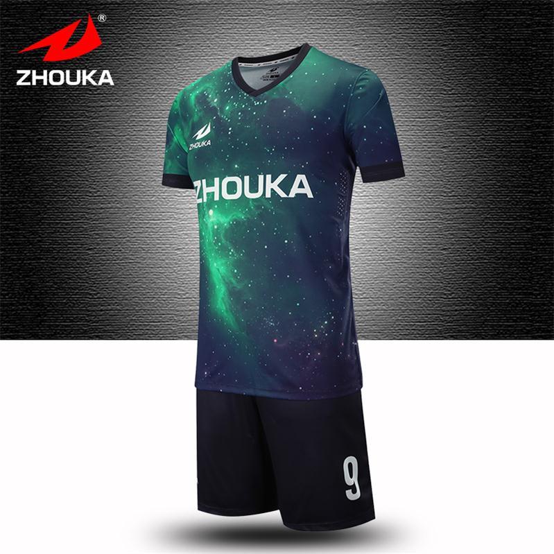 Camisetas del equipo de fútbol Jersey imprimir cualquier patrón color  nombre con fútbol sreversible fútbol Tailandia ee44f0c32fb