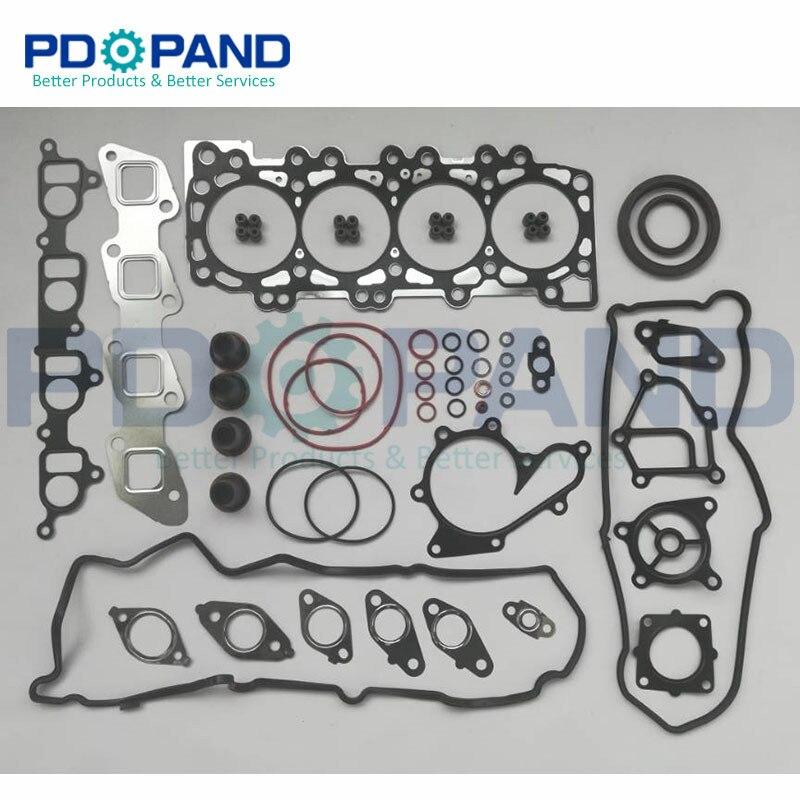 YD25 YD25DDTI Reconstruir Revisão Kit de Vedação para a Nissan NAVARA D40/Pathfinder R51/Murano/NV350 Caravana 2.5L
