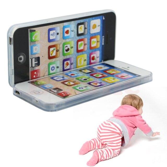 New Kids Ребенок YPhone Музыкальный Мобильный Телефон Исследование Обучающие Игрушка в Подарок Горячая