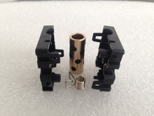 4pcs/lot 3D Printer DIY Parts Ultimaker 2 UM2 Original Injection Slider With Copper Sleeve