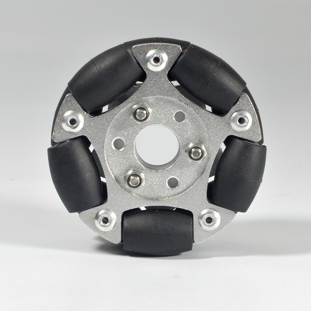Image 5 - 60 мм двойные алюминиевые Omni колеса 14145-in Образовательное оборудование from Офисные и школьные принадлежности
