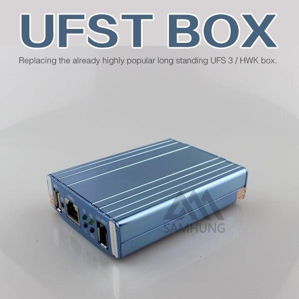 imágenes para CAJA Original Nueva caja UFS HWK UFS Turbo para Sam y NK y SonyEricsson UFST Caja (Paquete con 4 cables)