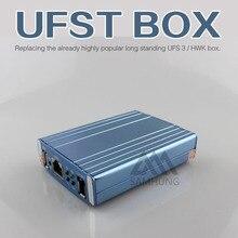 Оригинальный Новый UFS Turbo коробка UFS HWK КОРОБКА для Сэма и НК и SonyEricsson UFST Box (Входит В Комплект 4 кабели)