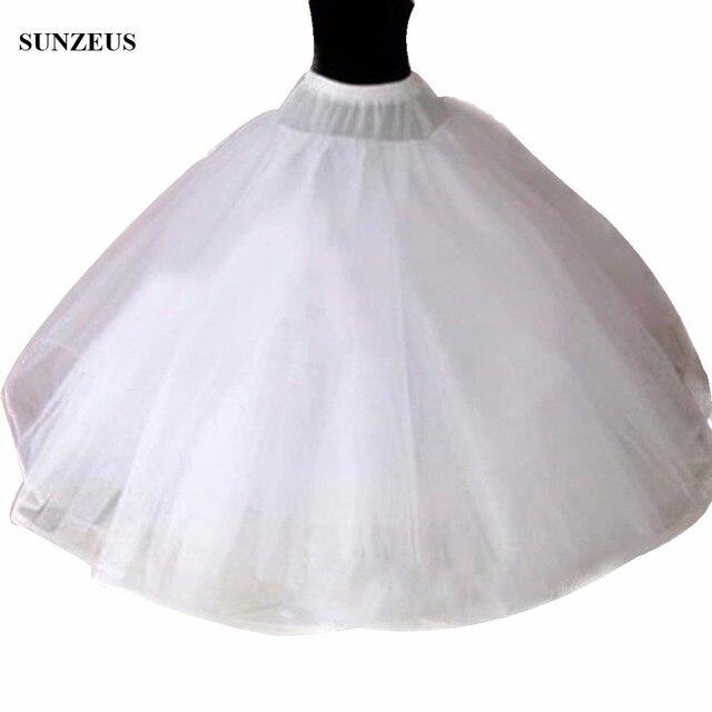 Hoopless 8 שכבות טול קשה יוקרה נסיכת Quinceanera שמלות תחתוניות תחתוניות חתונה קרינולינה ארוכה טול S40