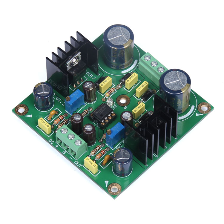 Finished LM317/LM337 LF 353 Servo Rectifier Filter Power Board AC to DC 30a 100v dual power supply stth1602cfp power amplifier rectifier filter power board ac dc conversion