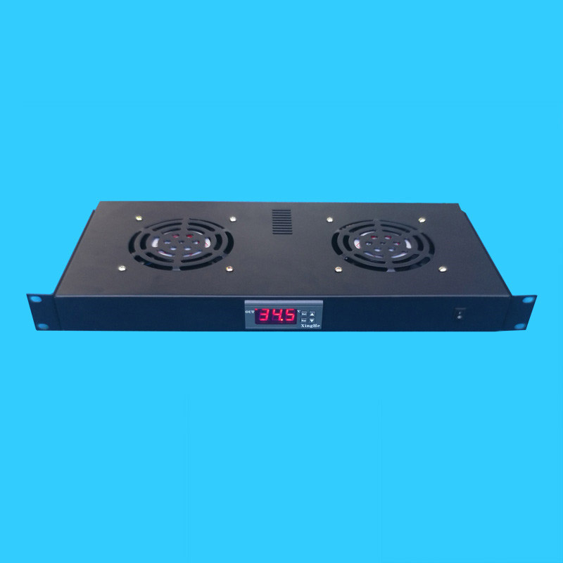 Rack Cabinets Temperature Control Fan Unit 2 Thermostat Fan Combination The Ventilation For Heat Elimination With 220V Fans
