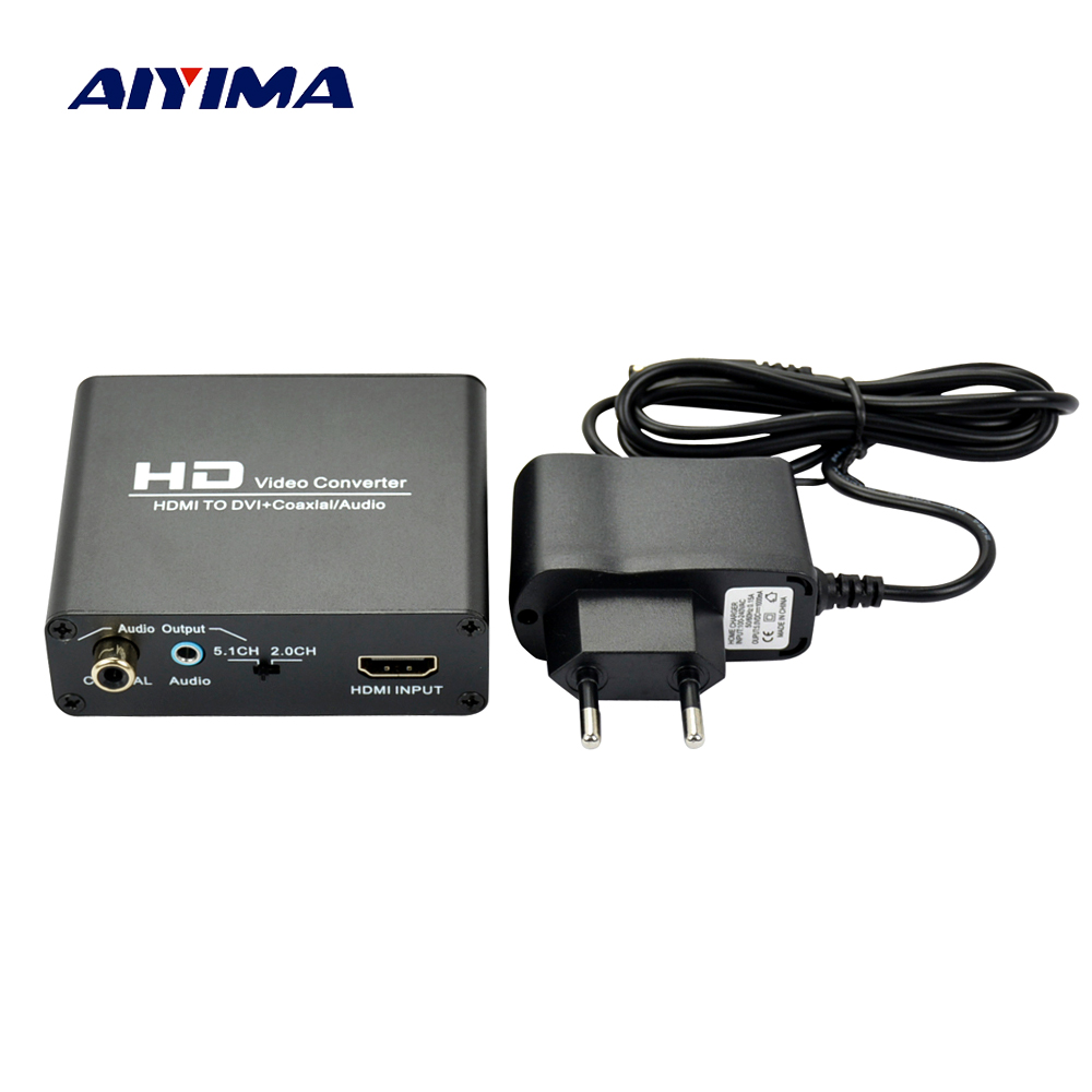 Funkadapter Besorgt Aiyima Audio Adapter Aeceiver Hdmi Dvi Hd Video Converter Hdmi Displayport Konverter Faser Zu Hdmi