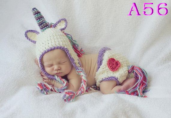 ca0b1d0183c2 Free shipping handmade crochet baby hats and Diaper Horse style ...