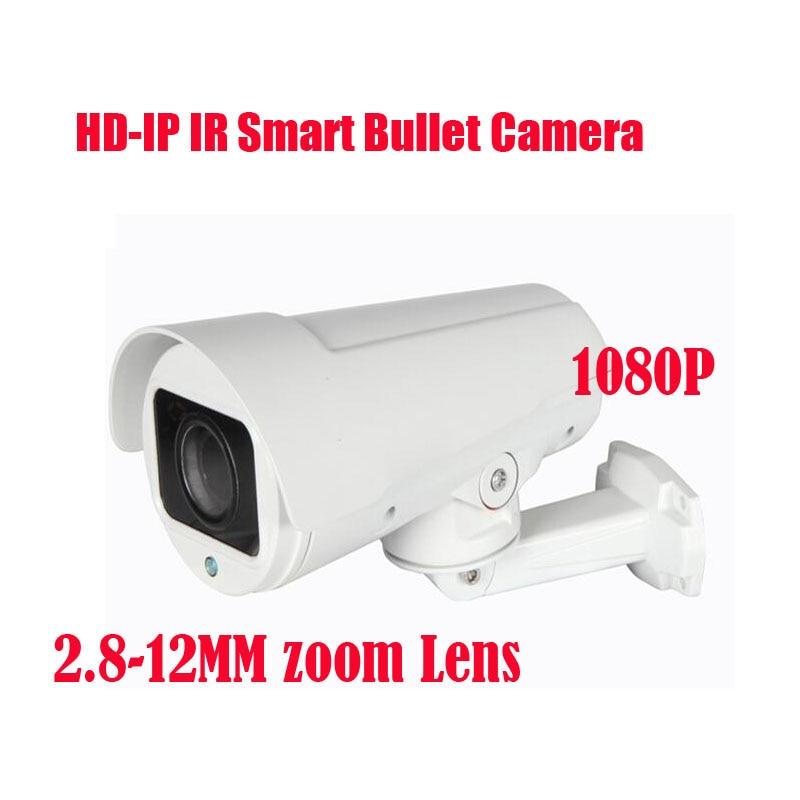 Free shipping New IR 30M 2.8-12mm Zoom IP Pan zoom Bullet Camera 1920*1080P 2MP/ 2.0 Megapixel  H.264Free shipping New IR 30M 2.8-12mm Zoom IP Pan zoom Bullet Camera 1920*1080P 2MP/ 2.0 Megapixel  H.264