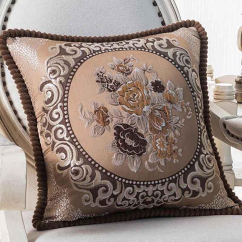Украшение для дома вышитая наволочка Ретро текстиль искусство ремесла диван автомобиль домашняя льняная Наволочка на подушку тканевая Подушка Чехол 2017
