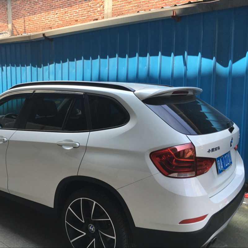 Rear Roof Car Spoiler For Bmw X1 2010 2017 Abs Wings X 1 Primer Without Paint