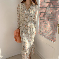 Шифоновое платье с лиственным принтом Цена 1165 руб. ($14.83) | 865 заказов Посмотреть
