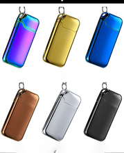 Keychain Lighter Usb Electronic Windproof Tugsten Turbo Lighter USB Charge Easy Ignation Flameless Cigarette Accessories