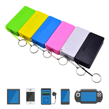 Power Bank 18650 6000mAh 2X Battery Charger Case DIY Box For