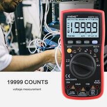 ANENG 870 мультиметр цифровой 19999 отсчетов тестер multimeter мультиметры tester dc dc тестер конденсаторов capacitor tester красный аналоговый мультиметор мультиметры Транзистор тестер конденсаторы rm219 транзисторы