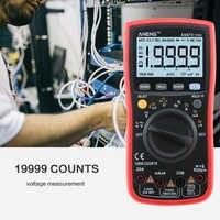 ANENG rojo 870 multimeter multimetro tester polimetro multímetro voltimetro amperimetro digital multímetro Digital, 19999 cuentas de Fondo AC/DC voltímetro amperímetro Ohm clip de alambre de puente de prueba