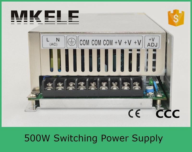 ФОТО power suply 27v 500w input 220v ac to dc switching power supply ac dc converter high quality led driver S-500-27