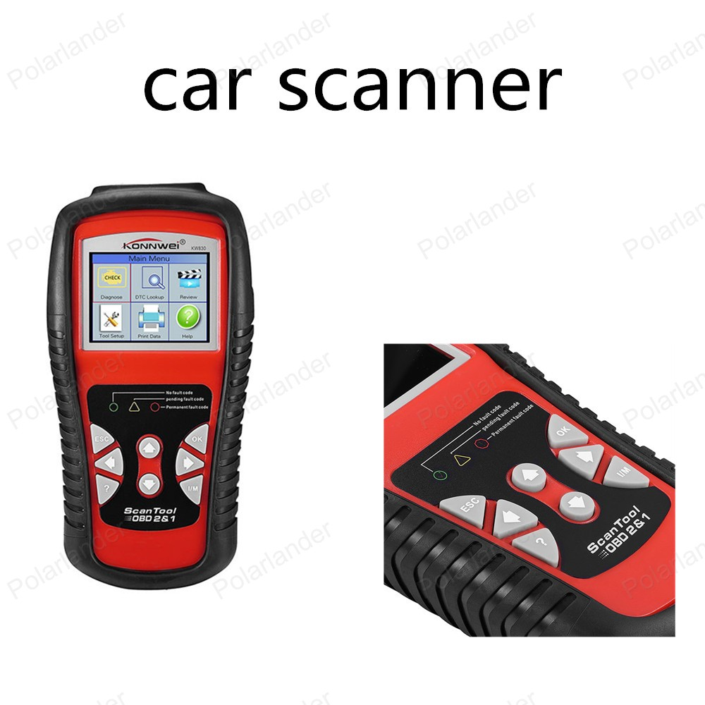hot kw830 car fault code reader scanner automotive. Black Bedroom Furniture Sets. Home Design Ideas