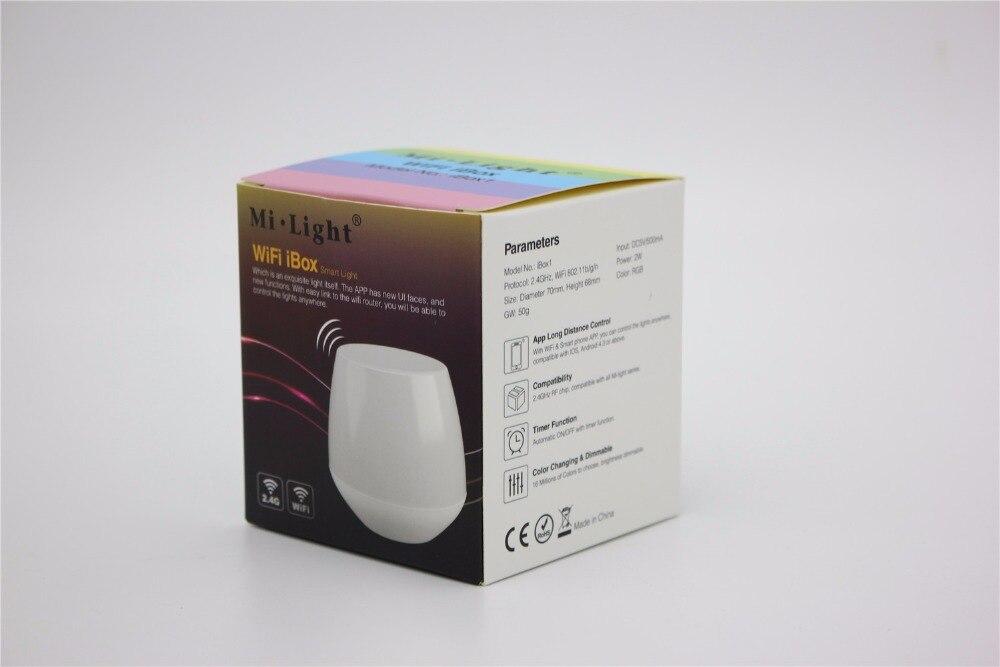 WiFi Controller led mi light hub+ RF touch 4 Zone remote+4pcs 2.4G Controller for LED Strip RGB RGBW RGBWW 12V 24V Free ship - 4