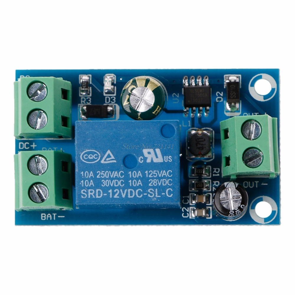 Power Off Automatic Switching Board Ups Emergency Cut More Circuit About Simple Supply Dc 12v 48v