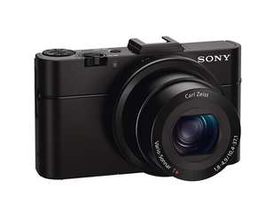 USED Sony RX100 II 20.2 MP Premium Compact Digital Camera w/ 1-inch Sensor, MI (Multi-Interface) Shoe and tilt LCD Screen