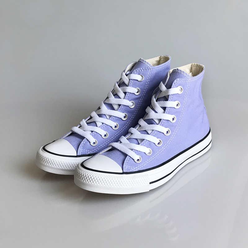 converse alta violeta