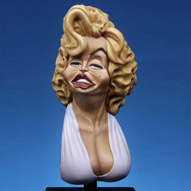 1:10 Resin Figure Bust Model Female Sexy Symbol X201 image