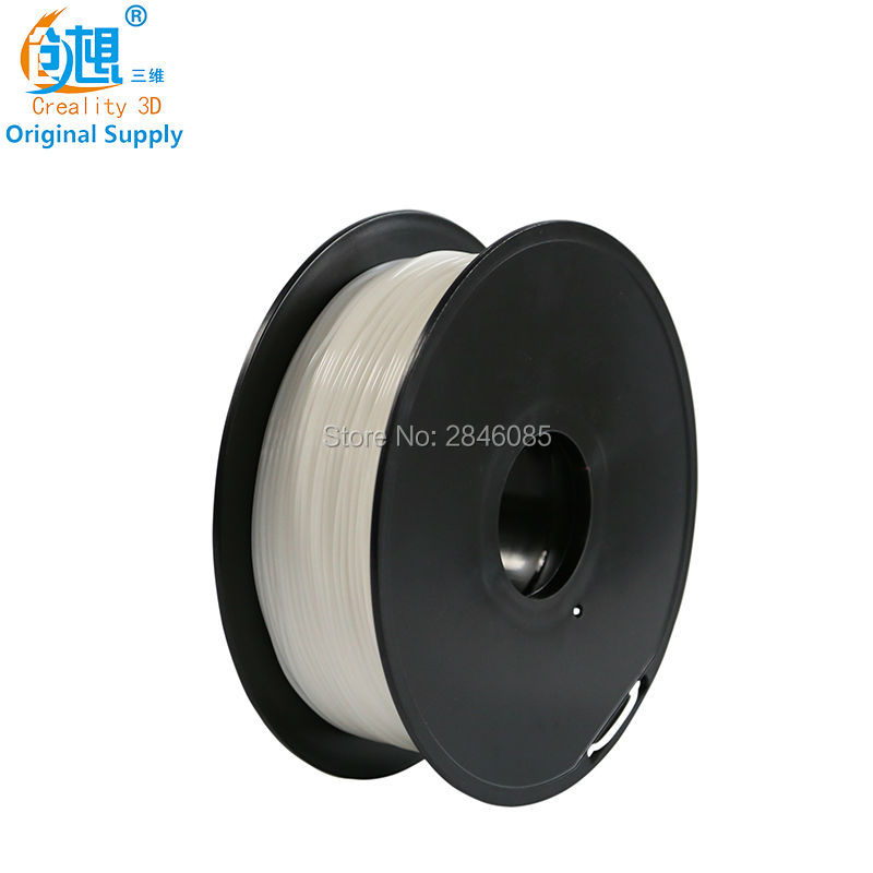 Cheap CREALITY 3D 1.75mm PLA filament White Color High quality PLA filament N.W 1000g for FDM 3D Printer FFF 3D Printer Green tronxy 1 75mm pla filament for 3d printer