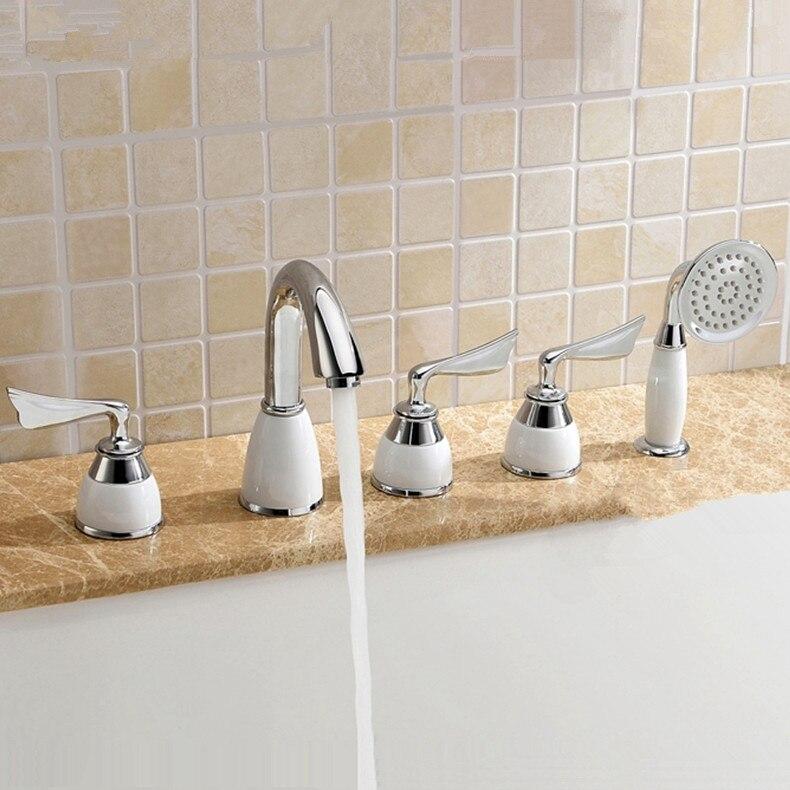 Promoción de Productos De Ahorro De Agua de Lujo de Latón Macizo Acabado Cromo T