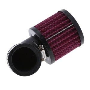 Image 2 - 1 Pcs Universal Luft Reiniger Intake Filter System Washable & Reusable Für 45 48mm Inneren Diam Rohr Auto motorrad ATV Roller Etc