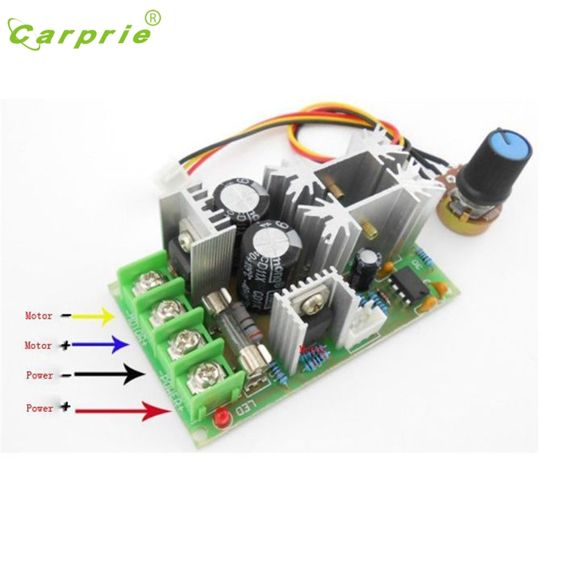 Open-Minded Universal Dc10-60v 20a Pwm Hho Rc Motor Speed Controller Module Switch Apr27 Carprie Motherlander Pure And Mild Flavor Ac/dc Adapters