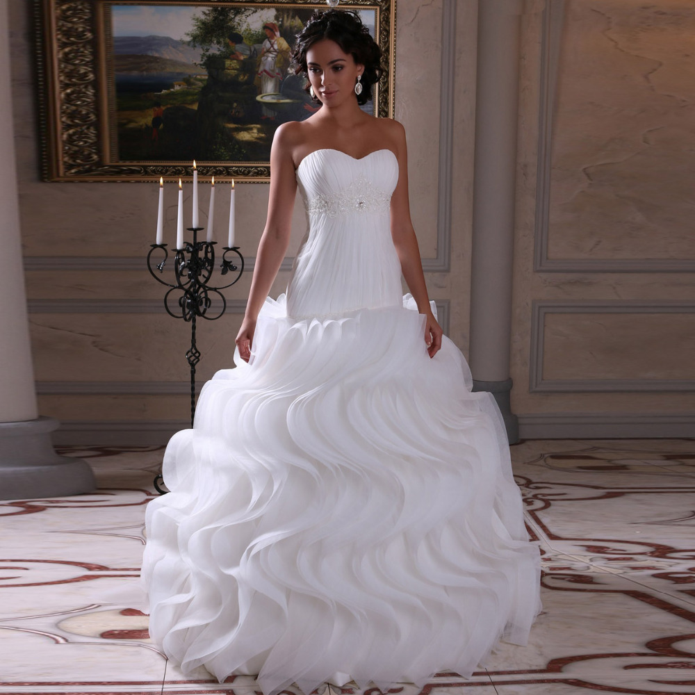 silk online wedding dresses