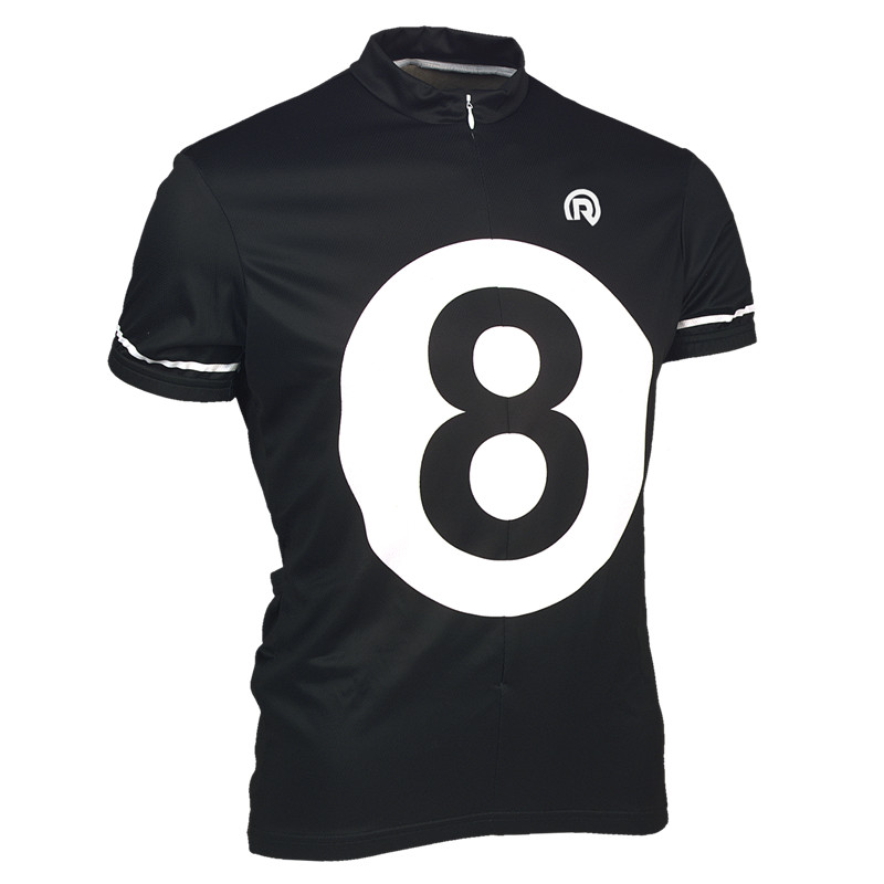 Men 8 BALL jersey cycling short sleeves sports bike bicycle Clothing Roupa Ciclismo Bike Clothing Breathable Wear
