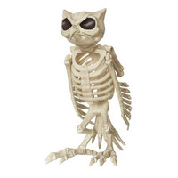 Halloween Cat Skeleton Animal Plastic Animal Skeleton Bones for Horror Halloween Decoration for KTV Bar Creative Halloween Gift