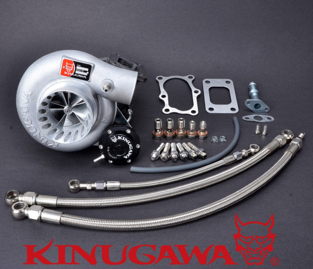 "Kinugawa turbocompresseur à billettes 3 ""Anti surtension TD05H-60-1 8 cm pour Nissan RB20DET RB25DET Bolt-On"