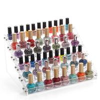 New Arrival Detachable 6 Tier Organizer Lipstick Display Stand Holder Nail Polish Rack Makeup Cosmetic