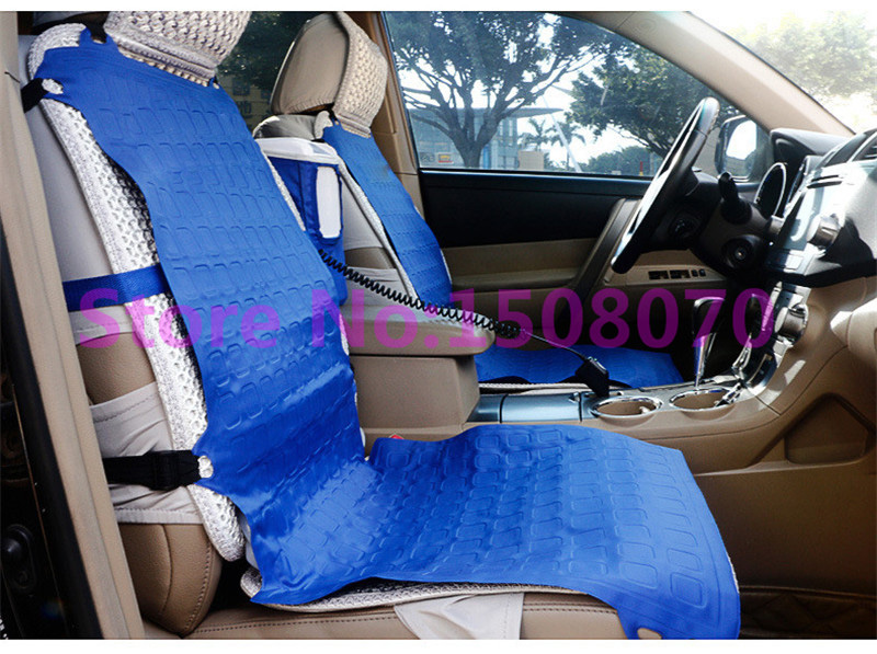 Купить с кэшбэком made in china 2017 cooling in summer portable car air conditioner cooling gel car seat cover for sale