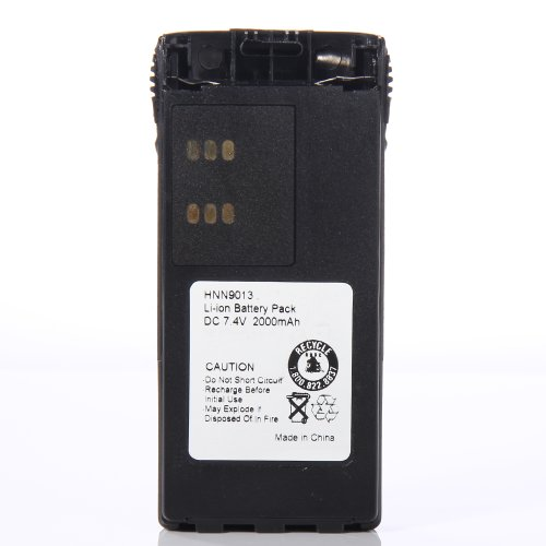 ATC 7 4V 2000mAh Li ion Portable Two Way Radio Battery HNN9013B HNN9013A for Motorola GP320