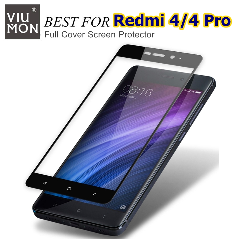 outlet store 75061 3b4e4 Full Cover For Xiaomi Redmi 4 Pro Tempered Glass Screen Protector For Xiomi  Xaomi 4 32GB Redmi4 Prime 5.0 inch Front Cover Film-in Screen Protectors ...