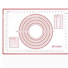 60*40/29*26 см силиконовый коврик для выпечки со шкалой прокатки теста коврик для замеса теста антипригарный кондитерский лист печь пищевой лайнер