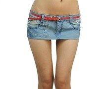ultra short denim skirt