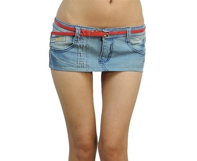 Jean Skirts Short - Skirts