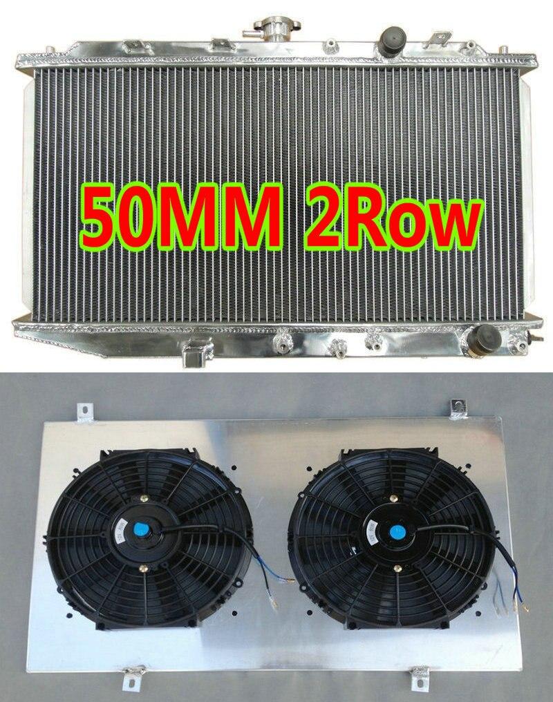 Radiator For 88-91 Honda Civic CRX 1.5L 1 Row AT