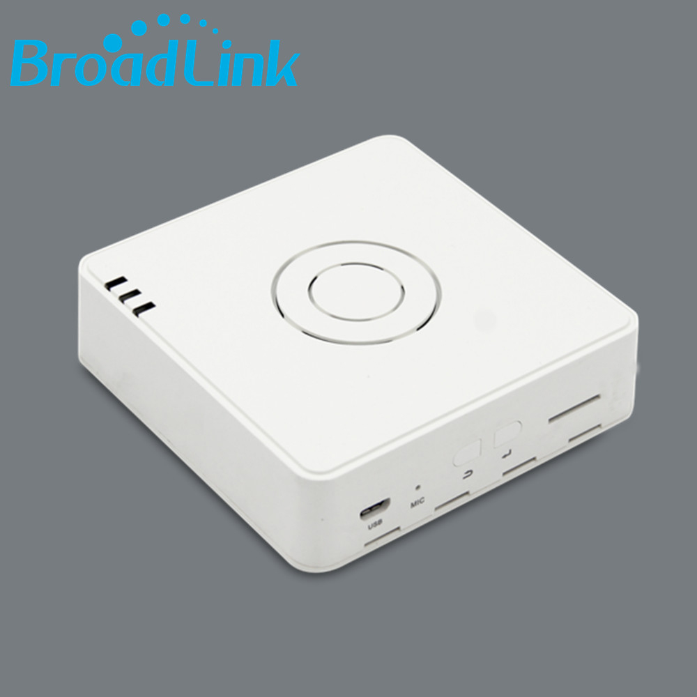 2017 New Arrival Original Broadlink S2 HUB Smart Home Host Compatible S1C Door Sensor RF433 Motion Sensor Fob Remote Upgrade S1