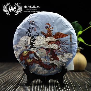 Chiny Cha Tulin Phoenix 2018 Raw Pu-erh #8222 Chiny Fenghuang #8221 Shen Pu-erh 357g tanie i dobre opinie FullChea CN (pochodzenie)