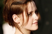 Latest English Film Star Kristen Stewart Face Closeup Portrait KA621 Living Room Home Wall Modern Art
