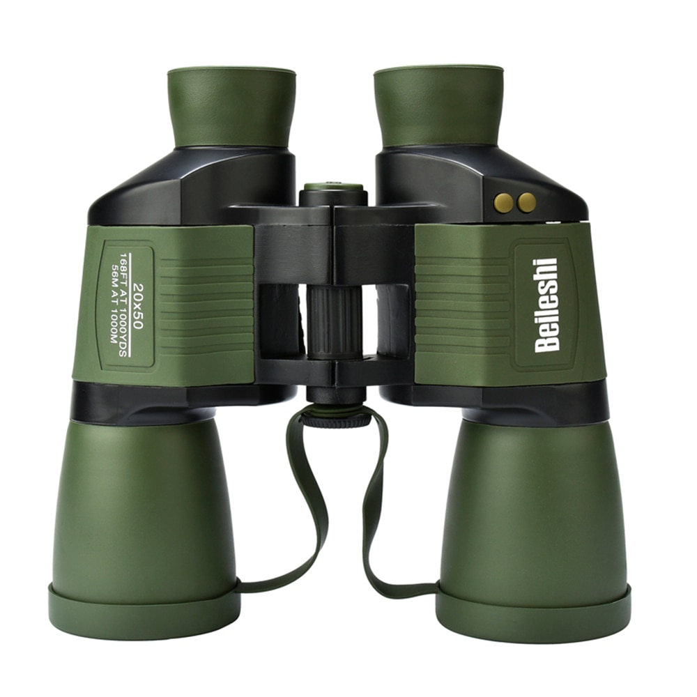 20X50 Binoculars Hunting Telescope Wide Angle Professional Outdoor Birding Traveling Sightseeing Hunting Rangefinder Binoculars in Monocular Binoculars from Sports Entertainment