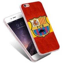 Os fãs de futebol do fc barcelona fcb caso para iphone 7 6 6 s plus 5 5c se capa para huawei ascend p6 p7 p8 p9 lite mini p9 p9 lite fino